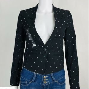 A/X Armani Exchange Modern Blazer Diamond Print